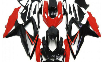 FK Injection Glossy Black  Fairing Fit for Suzuki 2008-2010 GSXR 600 750 a068