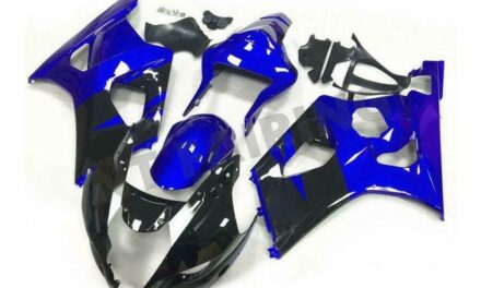 Injection Blue ABS New Kit Fairing Fit for Suzuki 2003-2004 GSXR 1000 a034