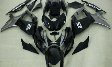 Abs Fairing kits fit Suzuki GSXR600/750 06-07 2006 2007 Black and gray injection