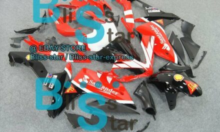 Red INJECTION Fairing Bodywork Plastic Fit Yamaha YZFR1 2007-2008 033 A6