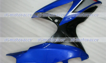 Blue Black Right Side Fairing Fit for Suzuki GSXR 600/750 2008-2010 Injection 21
