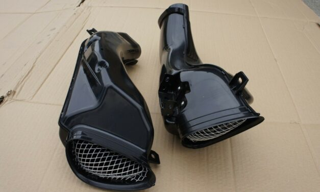Mutazu ABS Ram Air Intake Tube Ducts Suzuki GSXR600/750 2001-03 GSXR1000 01-2002