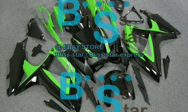 Green Black GSXR600 Fairing Fit SUZUKI GSX-R600 GSX-R750 2009 2008-2010 021 A3