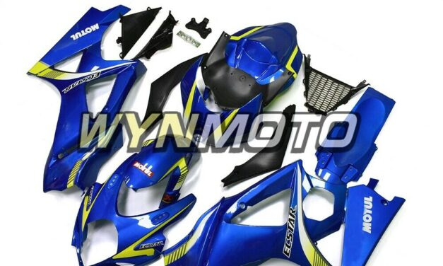 Blue Fairings for Suzuki GSXR1000 2007 2008 Bodywork K7 07 08 Body Kits Panels
