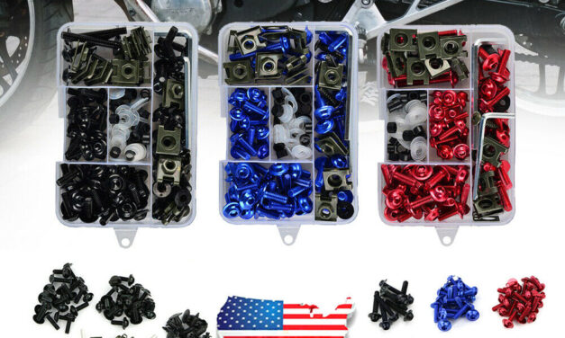 Motorcycle Complete Fairing Bolts Kit Bodywork Screws Fit For Suzuki GSXR USA