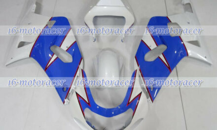Fairing ABS Plastic Fit for 2004-2005 GSXR 600 750 K4 Blue White Injection q#117