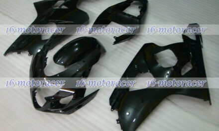 Fairing Gloss Black ABS Injection Fit for GSXR 600 750 K4 2004-2005 Mold New #42