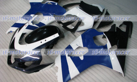 Fairing Fit for GSXR 600 750 K4 2004-2005 Blue White ABS Injection Mold New q#40