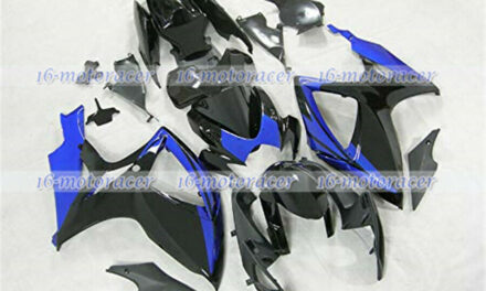 Fairing Fit for Suzuki GSXR 600 750 2006-2007 ABS Injection Black Blue New a#107