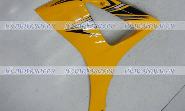 Left Side middle Fairing Plastic Fit for Suzuki GSXR1000 2007-2008 K7 Yellow #03