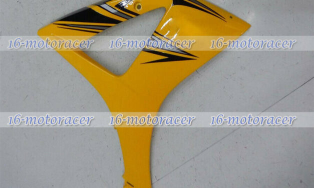 Right Side middle Fairing Plastic Fit for Suzuki GSXR1000 2007-2008 K7 Yellow #2