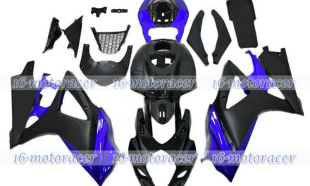 Fit for 07-08 GSXR1000 K7 Black Blue Complete Injection Plastic Fairing ABS a#55