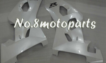 Fit for 04-05 GSXR 600 750 K4 Pearl White Injection Left Right Side Fairings a31