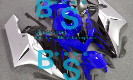 Blue Glossy INJECTION Fairing Kit Fit Honda CBR1000RR 2004-2005 45 A2