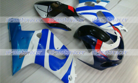Fairing Red Blue White Injection Fit for 01-2003 GSX-R 600/750 K1 ABS Mold n#137
