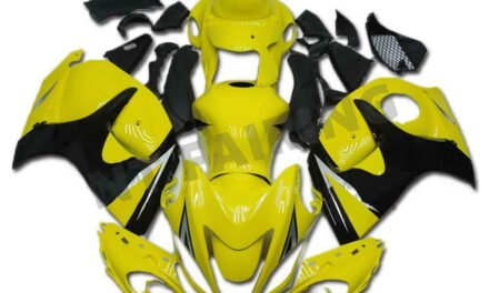 Injection Yellow Plastic Fairing Kit Fit for Suzuki 2008-2015 GSXR 1300 a025
