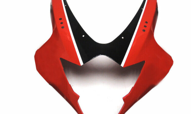 Front Head Cover Nose Red Injection Mold Fairings for Suzuki GSXR1000 2005 2006
