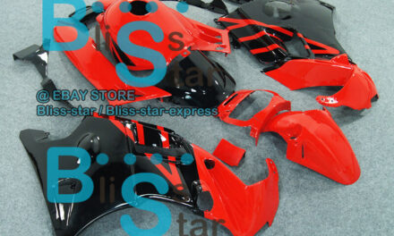 Red Glossy ABS Fairing With Tank Cover Kit Fit HONDA CBR600F2 1991-1994 13 A2