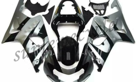 SC Injection Mold Silver Black Fairing Fit for Suzuki 2000-2002 GSXR 1000 a001
