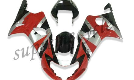 SC Plastic Injection Red ABS Fairing Fit for 2000-2002 Suzuki GSXR 1000 a015