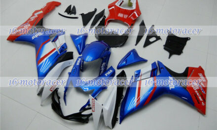 Fairing Fit for GSXR 600 750 K11 2011-2018 New White Blue Red Injection mold #17