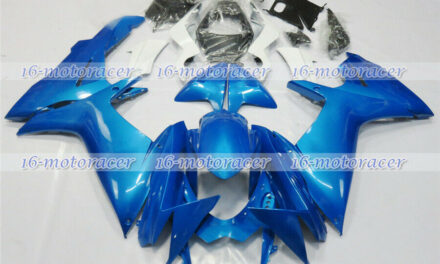 Fairing Kit Fit for Suzuki GSXR 600/750 2011-2018 Blue ABS Injection Molding #35