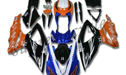 SC Injection Molding Plastic Fairings Fit for GSXR 600 750 SUZUKI 2008-2010 a076
