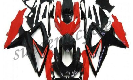 SC Injection Red ABS Plastic Fairing Fit for Suzuki 2008-2010 GSXR 600 750 a080