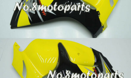 Fit for 2008-2018 GSXR 1300R Yellow Black Injection Left Right Side Fairings a16