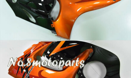 Fit for 2008-2018 GSXR 1300R Orange Black Injection Left Right Side Fairings a22