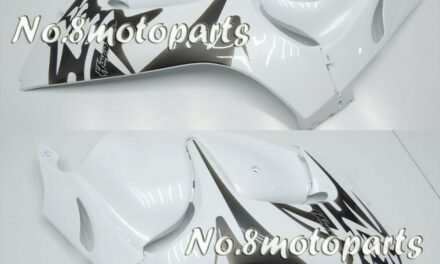 Fit for 2008-2018 GSX-R 1300R White ABS Injection Left Right Side Fairings a19