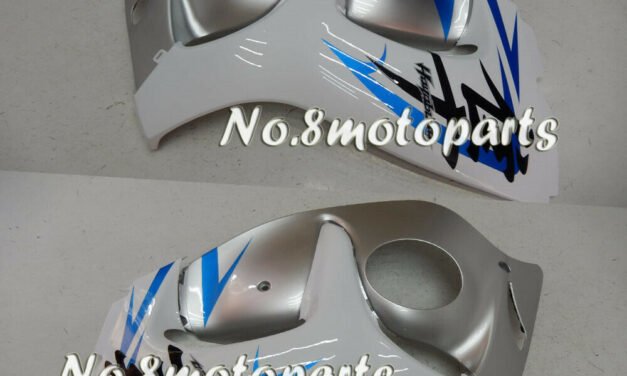 Fit for 2008-2018 GSX-R 1300R Silver White Blue Left Right Side Fairings a20