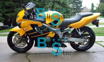 Yellow INJECTION Fairings + Tank Cover Full Fit  CBR600F4 1999-2000 40 B4