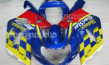 Yellow Red Blue ABS Injection Fairing Fit for Suzuki GSX-R 600 750 K1 2001-2003