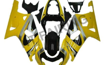 Fit for Suzuki 2001-2003 GSXR 600/750 Yellow Injection Model ABS Fairing a077