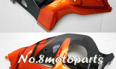 Fit for 1997-2007 GSXR 1300 Orange Black Injection Left Right Side Fairings a12
