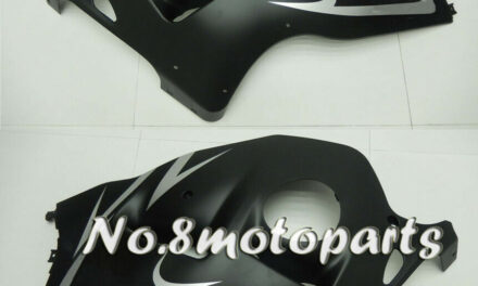 Fit for 1997-2007 GSXR1300 ABS Injection Matt Black Left Right Side Fairings a14