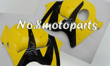 Fit for 1997-2007 Suzuki GSXR 1300 New Yellow Black Left Right Side Fairings a04