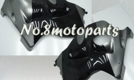 Fit for 1997-2007 Suzuki GSX-R 1300 New Gray Black Left Right Side Fairings a05