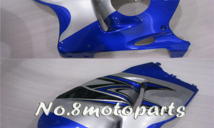 Fit for 1997-2007 GSX-R 1300R Silver Blue Injection Left Right Side Fairings a20