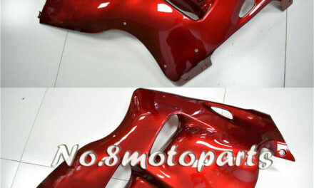 Fit for 1997-2007 GSX-R 1300R Pearl Red Injection Left Right Side Fairings a18