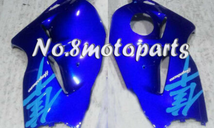 Fit for 1997-2007 GSX-R 1300 New Blue ABS Injection Left Right Side Fairings a11