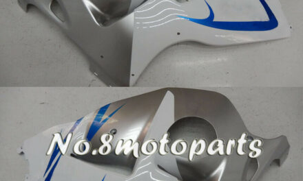 Fit for 1997-2007 GSX-R 1300R New Silver White Blue Left Right Side Fairings a16