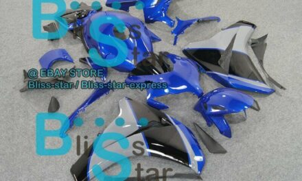 Blue Glossy INJECTION Fairing Fit HONDA CBR1000RR 2009 2010 2008-2011 66 A6