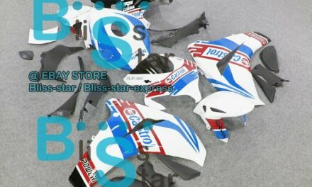 White Glossy INJECTION Fairing Fit HONDA CBR1000RR 2009 2010 2008-2011 54 A7