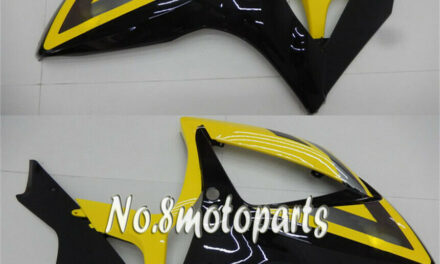 Left Right Side Fairing Fit for GSXR 600 750 06-07 K6 Yellow Black Injection a58