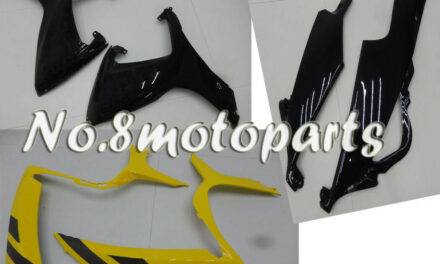 Yellow Black Injection Left Right Side Fairing Fit for GSXR 600 750 06-07 K6 a57