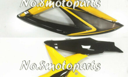 New Yellow Black Fit for GSX-R 600 750 K8 2008-2010 Left Right Side Fairings a33