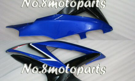 Fit for GSXR 600 750 K8 08-2010 Left Right Side Fairings Blue Black Injection 20