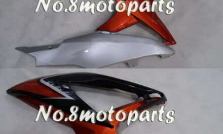 Fit for GSXR 600 750 K8 2008-2010 Injection Plastic Left Right Side Fairings a26